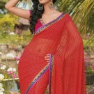 Sari Saree Casual Faux Georgette Printed With Unstitch Blouse - X 9008B N