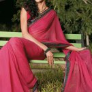 Sari Saree Casual Faux Georgette Printed With Unstitch Blouse - X 9005B N