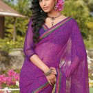 Sari Saree Casual Faux Georgette Printed With Unstitch Blouse - X 9003B N