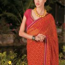 Sari Saree Casual Faux Georgette Printed With Unstitch Blouse - X 9013B N