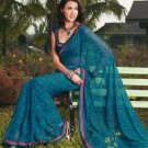 Sari Saree Casual Faux Georgette Printed With Unstitch Blouse - X 9003A N