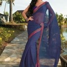 Sari Saree Casual Faux Georgette Printed With Unstitch Blouse - X 9016B N