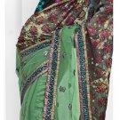 Bollywood Designer Embroidered Partywear Bridal Wedding Sarees Sari - TS 14014B