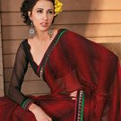 Sari Saree Casual Faux Georgette Printed With Unstitch Blouse - X 9014A N