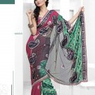 Bollywood Designer Embroidered Partywear Bridal Wedding Sarees Sari - TS 14009B