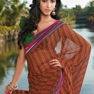 Sari Saree Casual Faux Georgette Printed With Unstitch Blouse - X 9001A N