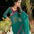 Sari Saree Casual Faux Georgette Printed With Unstitch Blouse - X 9012B N