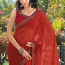 Sari Saree Casual Faux Georgette Printed With Unstitch Blouse - X 9011B N