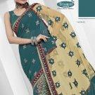 Bollywood Designer Embroidered Partywear Bridal Wedding Sarees Sari - TS 14004B