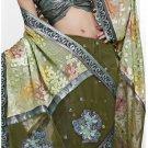 Bollywood Designer Embroidered Partywear Bridal Wedding Sarees Sari - TS 14003A
