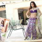 Lehenga Sari Bridal Net Georgeous Embroidery With Unstitched Blouse - X 1118 N