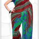 Indian Bollywood Faux Georgette Printed Sari With Unstitch Blouse - X 2203A N