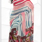 Indian Bollywood Faux Georgette Printed Sari With Unstitch Blouse - X 2188A N