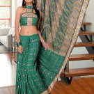 Partywear Faux Georgette Heavy Embroidered Saree With Blouse - Ls Arushi N