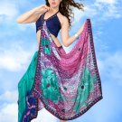 Sari Saree Casual Polyster Designer Printed With Unstitch Blouse CH 9014 N