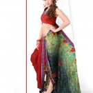 Sari Saree Casual Faux Georgette Designer Printed With Unstitch Blouse CH 9008 N