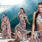 Sari Saree Faux Georgette Designer Printed With Unstitch Blouse - SM 896B N