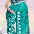 Casual Partywear Faux Georgette Printed Designer Saree - Ts 29006b N
