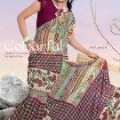 Casual Partywear Faux Georgette Printed Designer Saree - Ts 29015b N