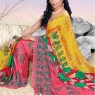 Casual Partywear Soft Georgette Printed Designer Saree - Ts 29020b N