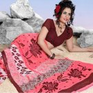 Casual Partywear Faux Georgette Printed Designer Saree - Ts 29006a N