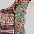 Silk Casual Partywear Designer Printed Sarees Sari With Blouse - X 4541A N