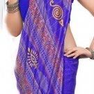 Silk Casual Partywear Designer Printed Sarees Sari With Blouse - X 4788D N