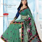 Wedding Net Designer Embroidered Saris Saree With Blouse - TS 25019A N