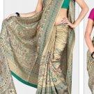 Silk Casual Partywear Designer Printed Sarees Sari With Blouse - X 4822B N