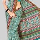 Silk Casual Partywear Designer Printed Sarees Sari With Blouse - X 4541D N