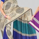 Silk Casual Partywear Designer Printed Sarees Sari With Blouse - X 4767A N