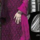 Cotton Partywear Designer Embroidered Salwar Kameez With Dupatta - X 6097b N