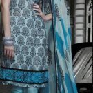 Cotton Partywear Designer Embroidered Salwar Kameez With Dupatta - X 6085b N