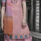 Cotton Partywear Designer Embroidered Salwar Kameez With Dupatta - X 6087b N