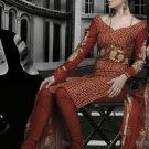 Cotton Partywear Designer Embroidered Salwar Kameez With Dupatta - X 6084b N