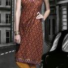 Cotton Partywear Designer Embroidered Salwar Kameez With Dupatta - X 6097c N