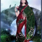 Sarees Sari Partywear Faux Georgette Designer Printed With Blouse - SM 663A N