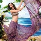 Sarees Sari Partywear Faux Georgette Designer Printed With Blouse - SM 618B N