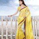 Sarees Sari Partywear Faux Georgette Designer Printed With Blouse - SM 708 N