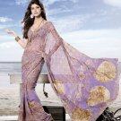 Sarees Sari Partywear Faux Georgette Designer Printed With Blouse - SM 694A N
