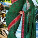 Sarees Sari Partywear Faux Georgette Designer Printed With Blouse - SM 655B N
