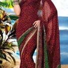 Sarees Sari Partywear Faux Georgette Designer Printed With Blouse - SM 654B N