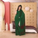 Crepe Partywear Printed Indian Bollywood Sarees Sari With Blouse - RS 5412 N