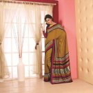 Crepe Partywear Printed Indian Bollywood Sarees Sari With Blouse - RS 5410 N