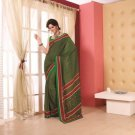 Crepe Partywear Printed Indian Bollywood Sarees Sari With Blouse - RS 5417 N