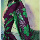 Faux Georgette Partywear Designer Printed Saree Sari With Blouse - X 2524 N