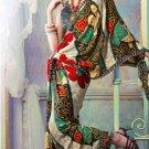 Faux Georgette Partywear Designer Printed Saree Sari With Blouse - X 2534 N