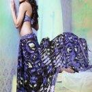 Faux Georgette Partywear Designer Printed Saree Sari With Blouse - X 2528 N