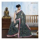 Faux Georgette Partywear Designer Embroidered Saree Sari With Blouse- LPT 2052 N