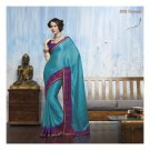 Pure Chiffone Partywear Designer Embroidered Saree Sari With Blouse- LPT 2053 N